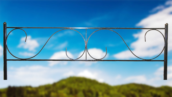 Ограда стальная